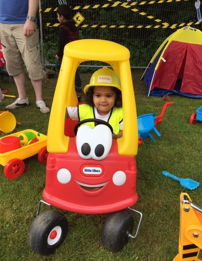 Arjuns Construction Themed 2nd Birthday Party