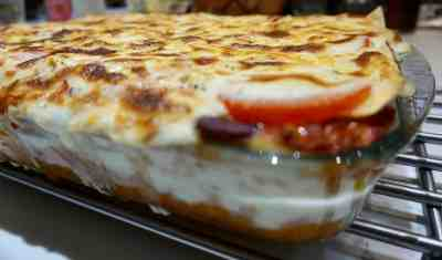 Veggie Mince Deep Dish Lasagne Recipe With Asda