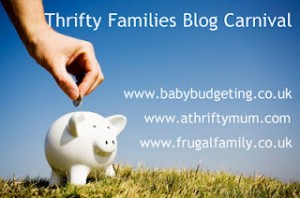 Thrifty families blog carnival