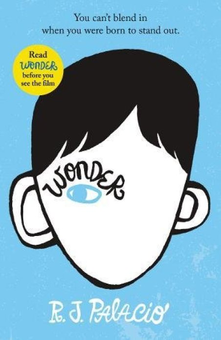 book review of Wonder a wonderful though proving read for anyone age 8and above about why it is okay to be different and the importantce of friendship and courage. An awesome book