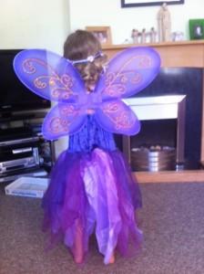 purple fairy, purple fairy fancy dress
