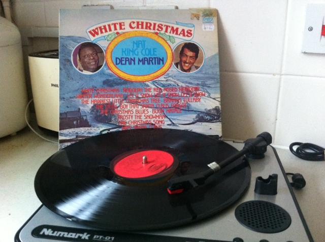 charity shop Christmas, dean martin christmas, dean martin, nat king cole