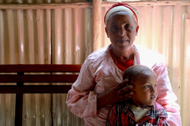 Ethiopian Mum , Food front line