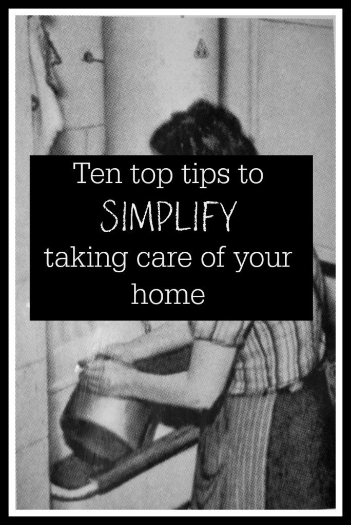 simplify taking care of your home