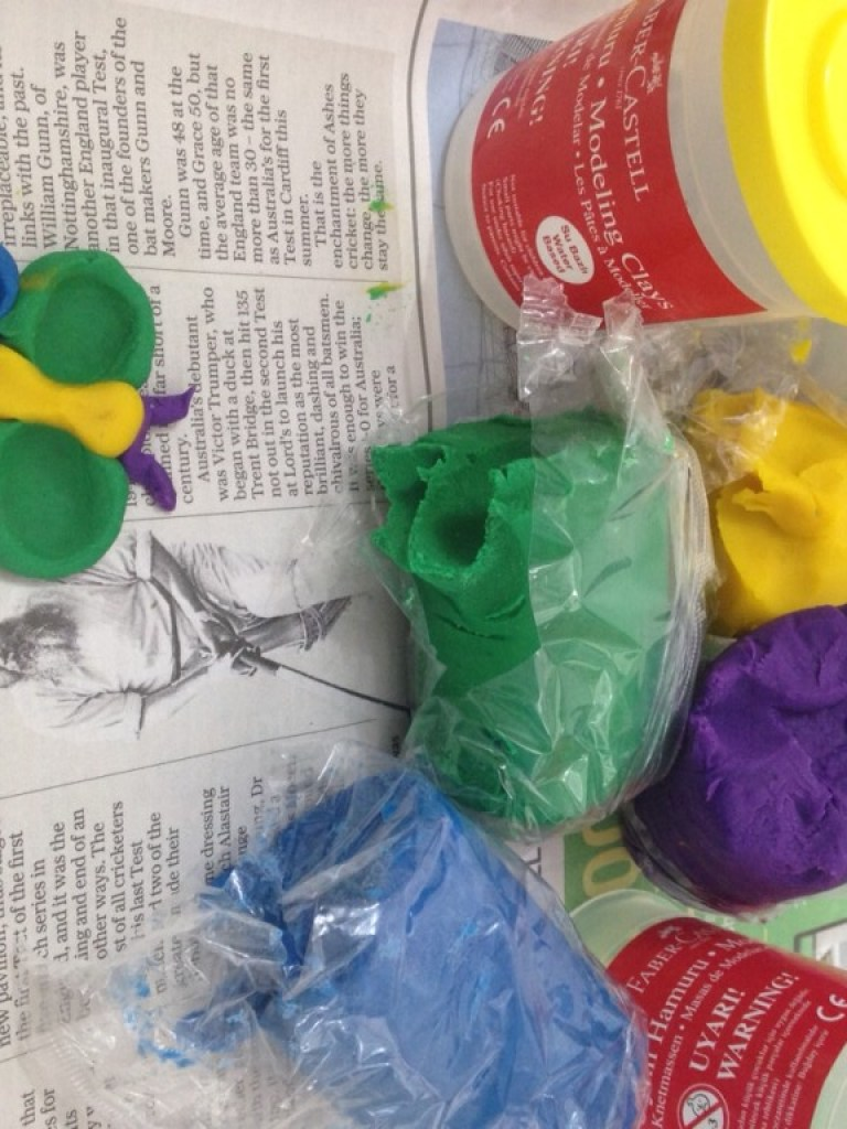 modelling clay