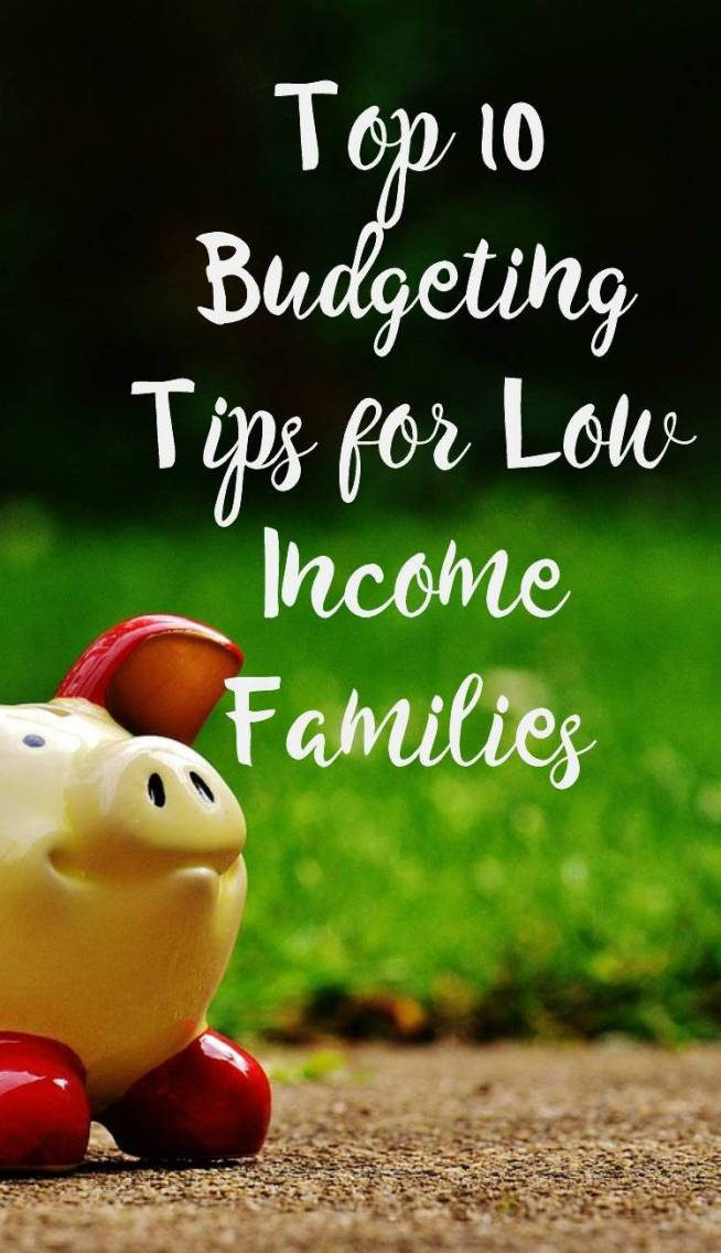 Top 10 Budgeting Tips - How to get out of debt on a low income