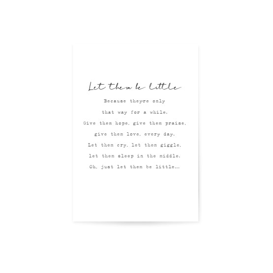 Poster-let-them-be-little-white-