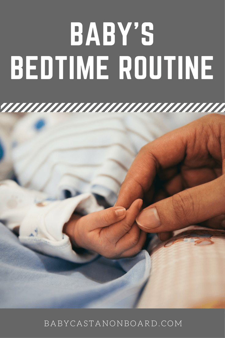 At about 3.5 months, we decided to start our bedtime routine. Here is the reason why we started a baby bedtime routine and how we did it successfully.