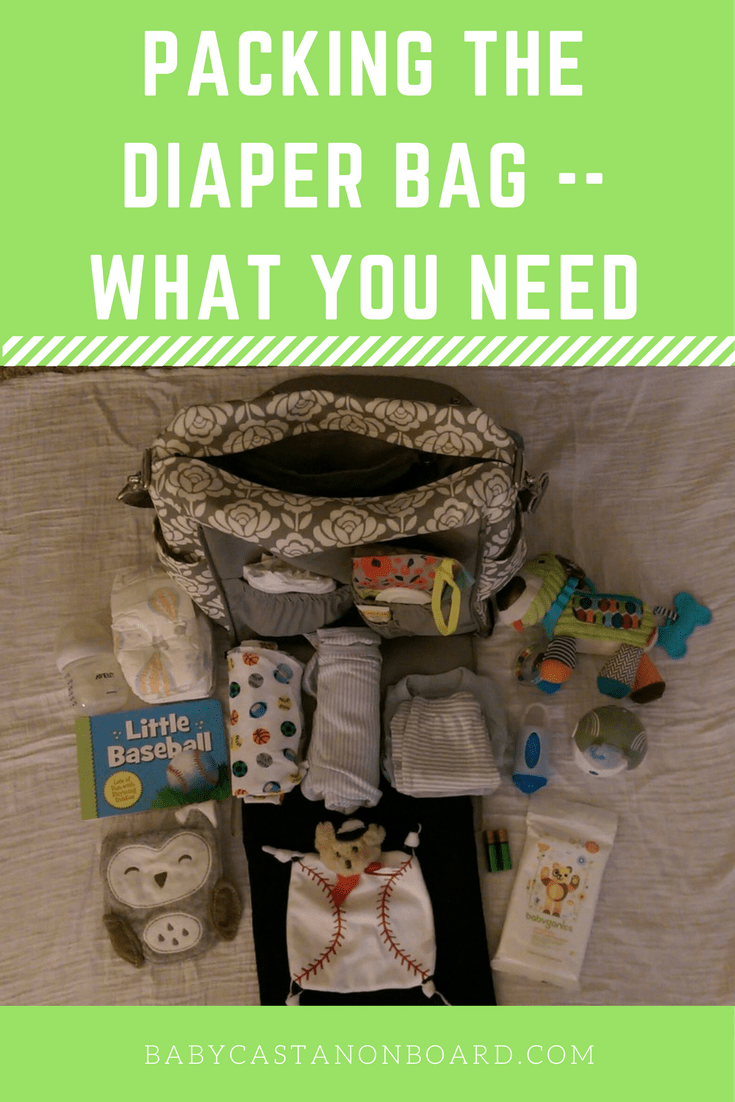 Almost five months into motherhood, I pretty much have packing the diaper bag down to a science! Here are tips for packing the diaper bag.