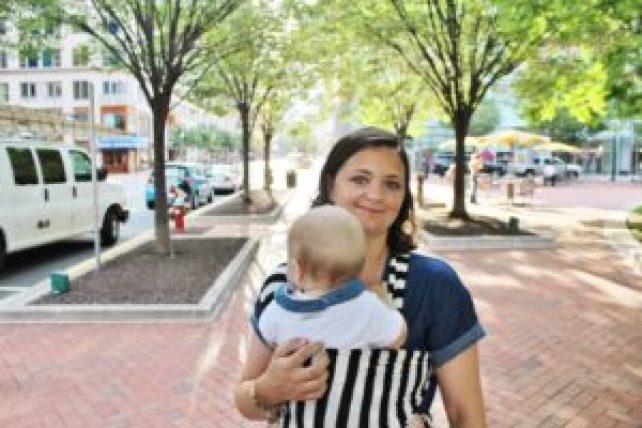 benefits of babywearing DC Motherhood Blog