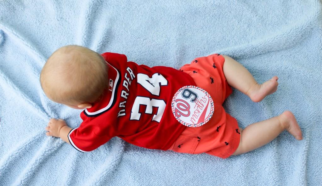 Aiden nine months jersey