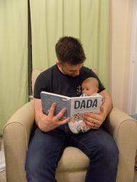 Bedtime stories Dada 3 months