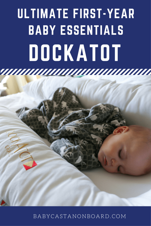 The DockATot is an ultimate first-year essential for moms with new babies. The multi-functional dock that can be used for just about everything.