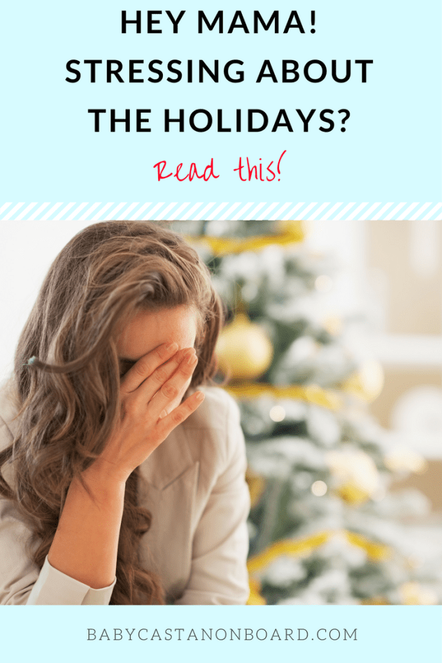 The holidays can be stressful especially with kids. Here are some mom life tips for avoiding holiday stress and drama from moms who have been through it!