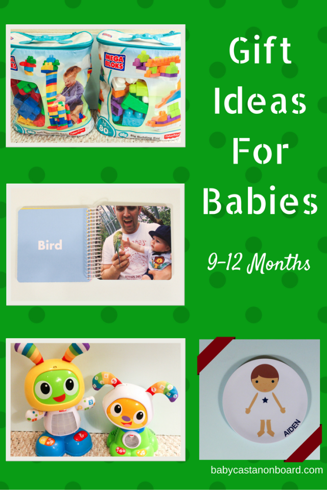 It wasn't so long ago that I had no idea what to get for a one-year-old. Here is a list of gift ideas for babies 9-12 months.