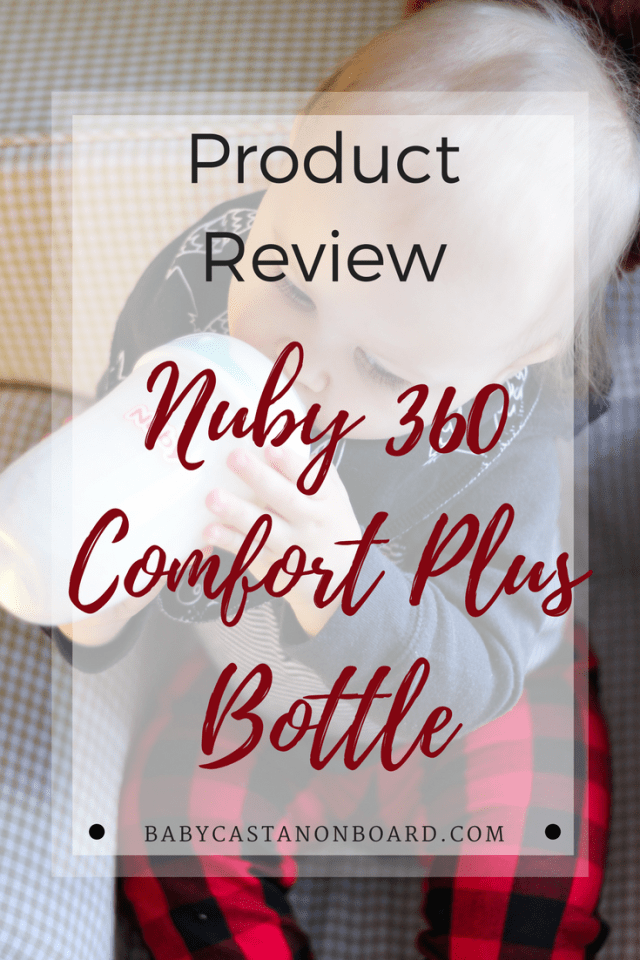 nuby bottles review nuby comfort 360 plus baby castan on board. Black Bedroom Furniture Sets. Home Design Ideas