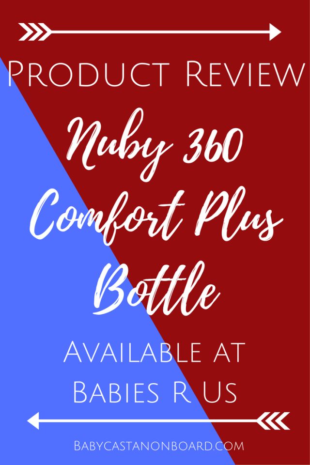 The new Nuby Comfort 360 Plus+ Silicone Anti-Reflux & Anti-Colic Bottle is a great option for parents with newborns all the way to toddlers.