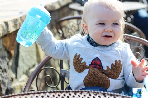 A review of the Nuby Comfort 360 Six-Stage Bottle to Cup Kit. It is available exclusively at Babies 'R Us and is perfect for newborns through toddlers. - Nuby Comfort 360 6 Stage Bottle to Cup Kit review featured by popular DC mommy blogger, Baby Castan On Board