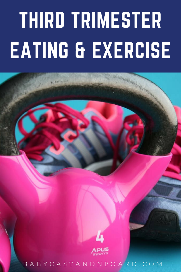 This is the last post in a series of posts about eating well and exercising. This post will focus on third trimester eating and exercise.