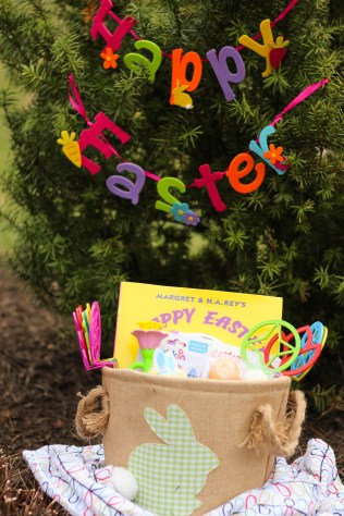 What to put in a one year olds easter basket baby castan on board i tried to find small gifts that had an easter or spring theme that aiden could negle Choice Image