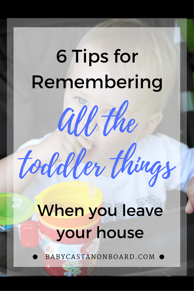 If you have taken toddler anywhere outside your home you have probably realized how many things you need to bring. Here are tips for packing toddler things.