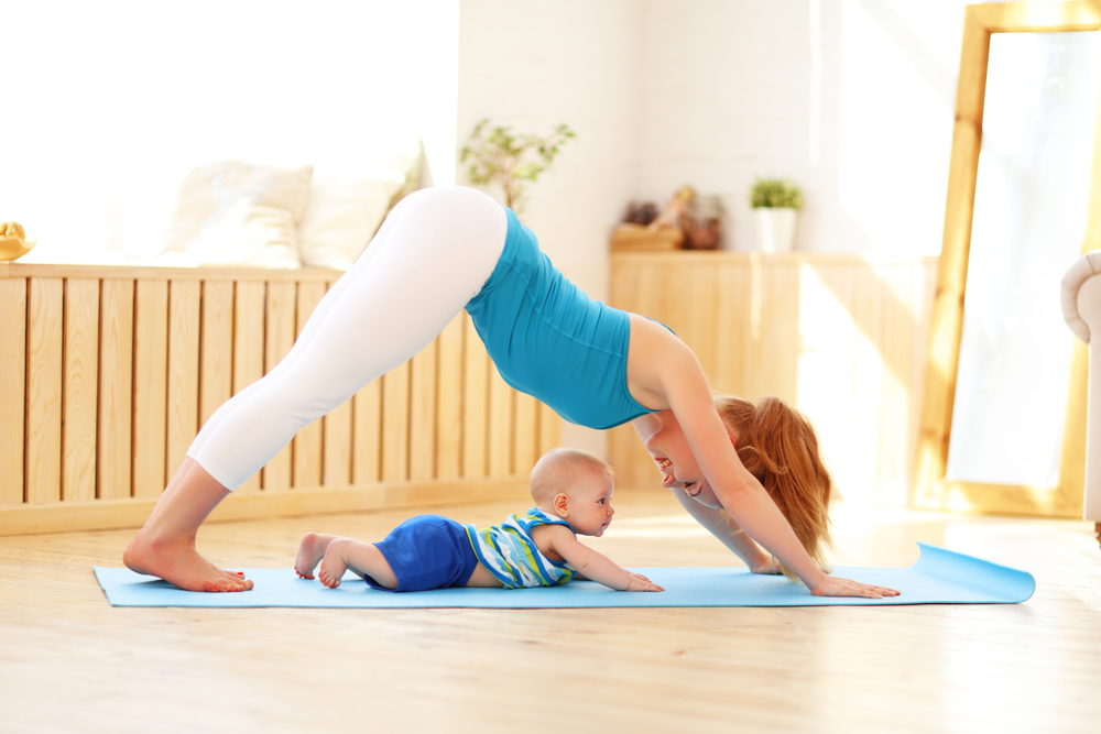 Yoga classes for babies are all the rage, but are they beneficial? Are they safe? Yes, and yes! Learn the benefits of yoga for and with babies. - Mom and Baby Yoga featured by popular DC mommy blogger, Baby Castan On Board