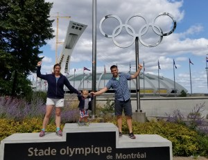 We just got back from 10 days in Montreal. There were tons of things in Montreal to do with a toddler. If Montreal is not on your list I would add it!