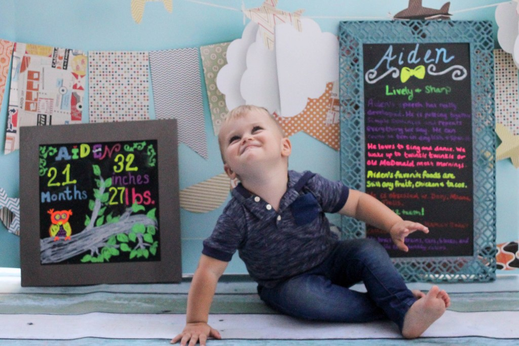 Happy 21 months Aiden featured by popular DC mommy blogger, Baby Castan On Board