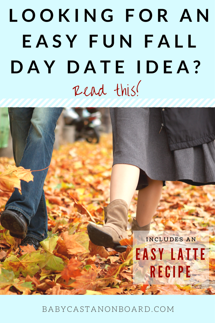 (AD) #IndulgenceDoneRight My favorite fall day date activity is to grab a coffee and visit a farmers market. Try this Latte recipe using Land O'Lakes® Buttercream Style Half & Half. #momanddad #datenight #momlife #fall