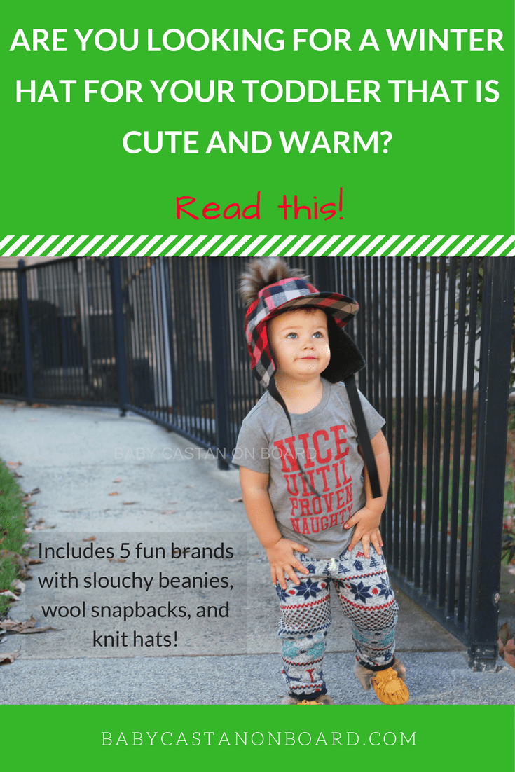 When the weather gets cold our little guy lives in slouchy beanies and knit winter hats. Here are the cutest winter hats for babies and toddlers. #babyboy #toddlerboy #giftidea #winter #momlife