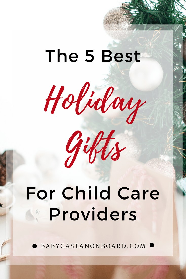 Our child care provider takes amazing care of our toddler all year. Here are the best gifts for child care providers to show appreciation.