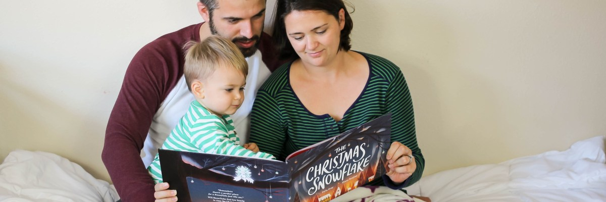 The Christmas Snowflake is a perfect personalized book for Christmas, including the whole family, and will be part of our Christmas tradition.