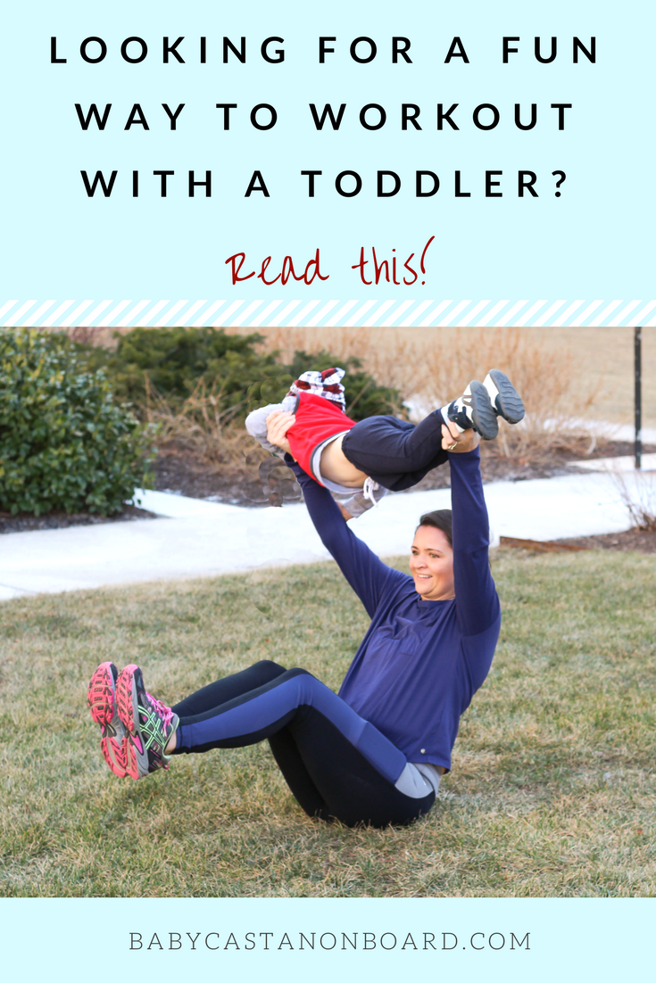 An easy at-home workout for mom with toddler | at home workouts | Exercises for moms #momlife #motherhood #workouts