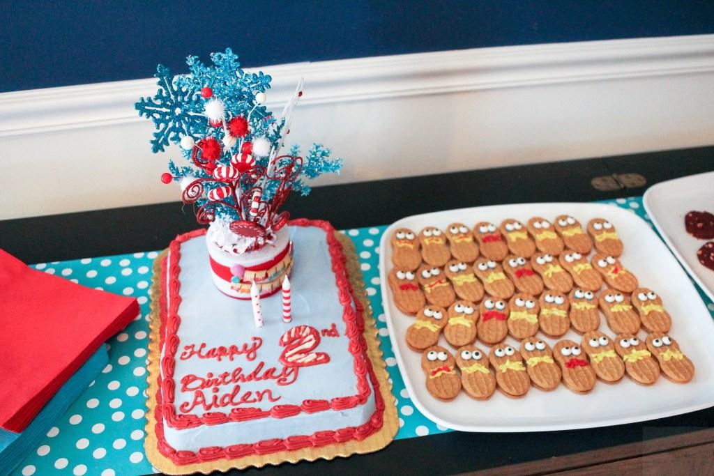 Dr. Seuss Themed Birthday Party-Dr.Seuss-cake-DC-Motherhood Blog