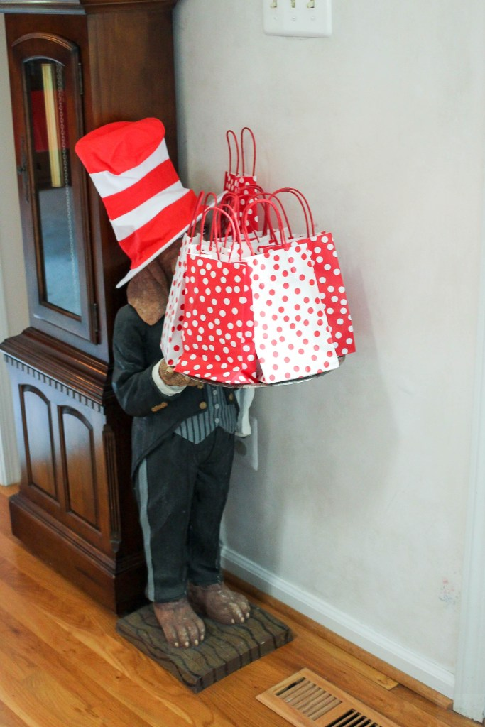 Dr. Seuss Themed Birthday Party-Dr.Seuss-inspired-favor-bags-DC-Motherhood Blog