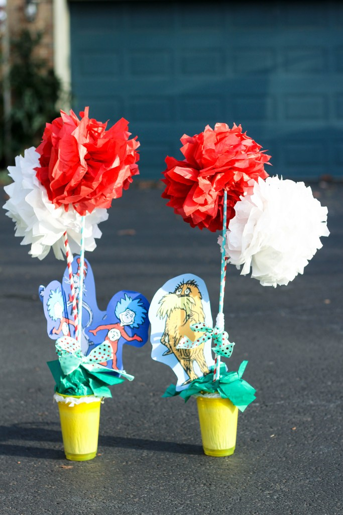 Dr. Seuss Themed Birthday-two-year-old-with-Dr-Seuss-truffala-trees-DC-Motherhood Blog