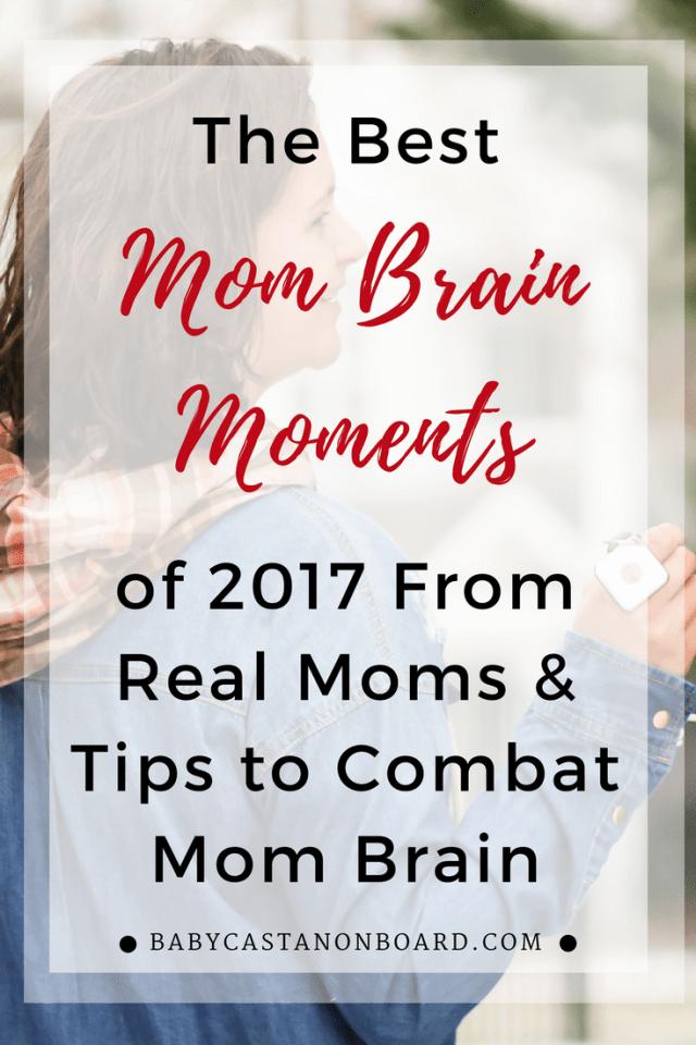 Mom Brain Moments of 2018 plus tips to combat mom brain #mombrain #motherhood #momlife