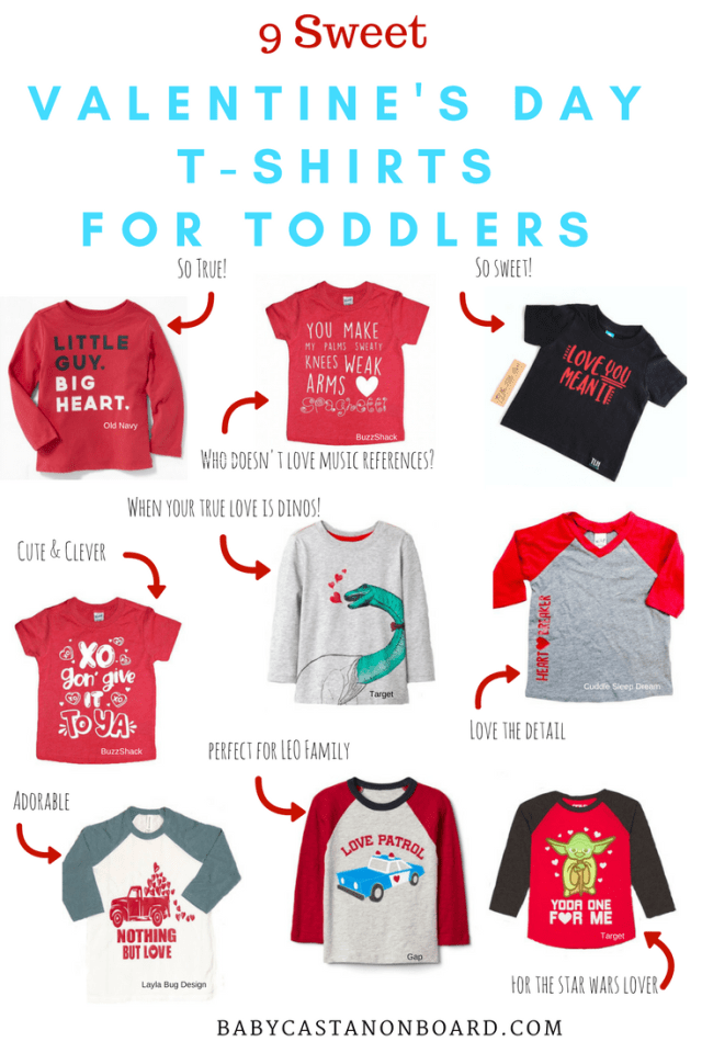 Valentine's Day T-Shirts for Toddlers   Valentine's Day Outfits for baby and toddler   Valentine's Day Outfits for Boy #fashion #baby #toddler #toddlerstyle #valentinesday - Sweet Valentine's Day Shirts for Toddlers by popular DC mommy blogger Baby Castan on Board