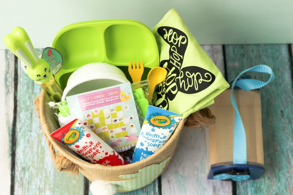 2 Year Old Easter Basket Ideas featured by top US mommy blog Baby Castan On Board