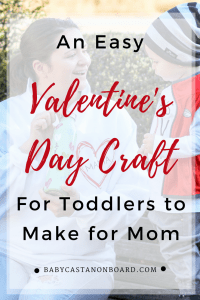 Valentines Day Craft for Toddler Moms | Valentines Day Gift From Toddler | Valentines Day Gift for Mom | Valentines Day Craft DIY #valentinesday #diy #toddlercraft