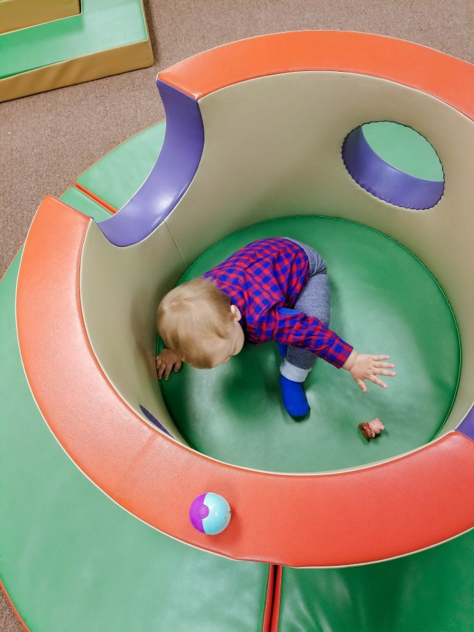 Chibis Indoor Playground Review by popular DC mommy blogger Baby Castan on Board
