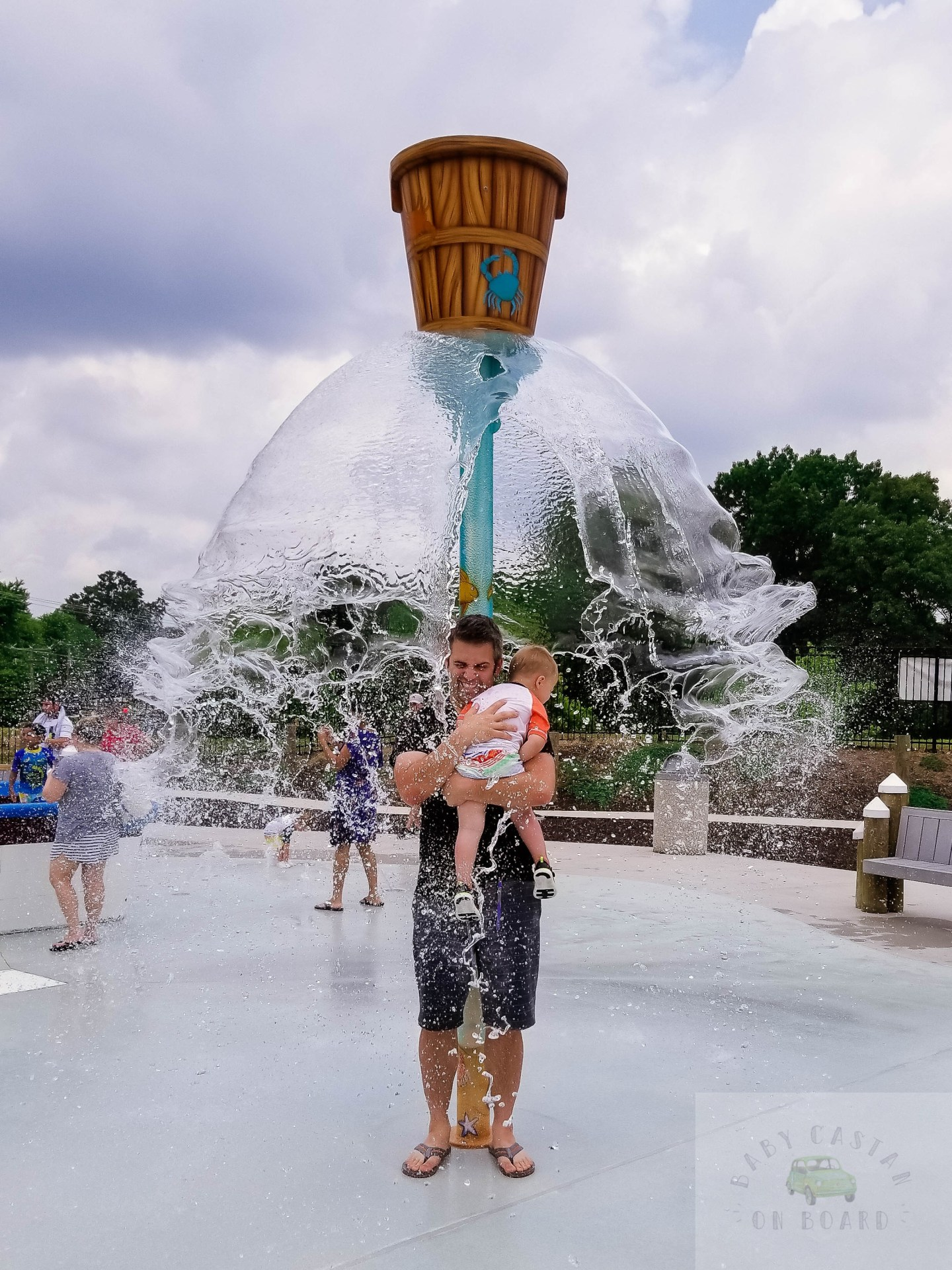 Splash pads in DC_Our Special Harbor Water Bucket