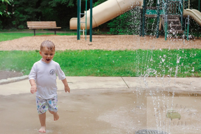 best splash pads in DC_Lake Anne_Toddler running in fountain_web