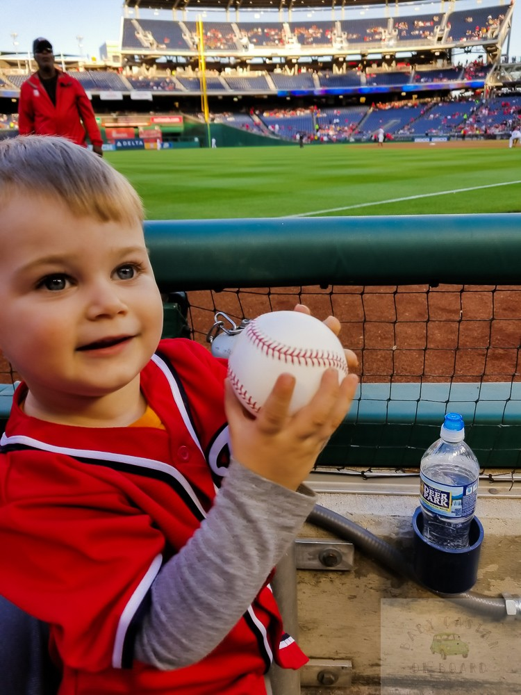 washington nationals baseball team_toddler holding baseball