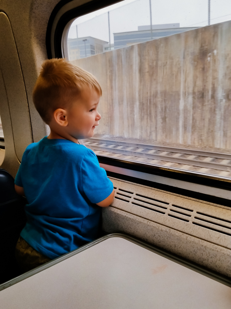 4 Top Tips for Train Travel with a Toddler
