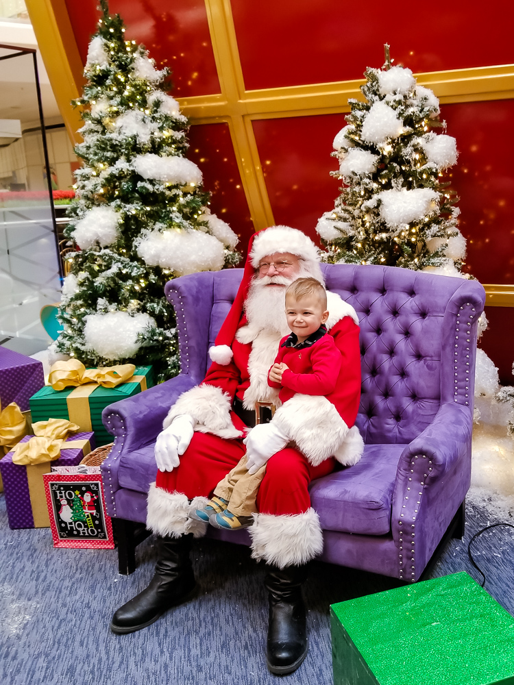 The Secret to a Cry-Free Santa Visit with a Toddler