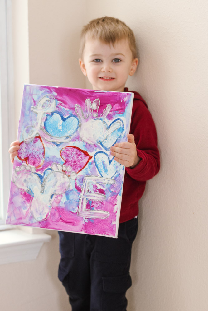 Heart Crafts for Toddlers featured by top US mom blog, Baby Castan on Board