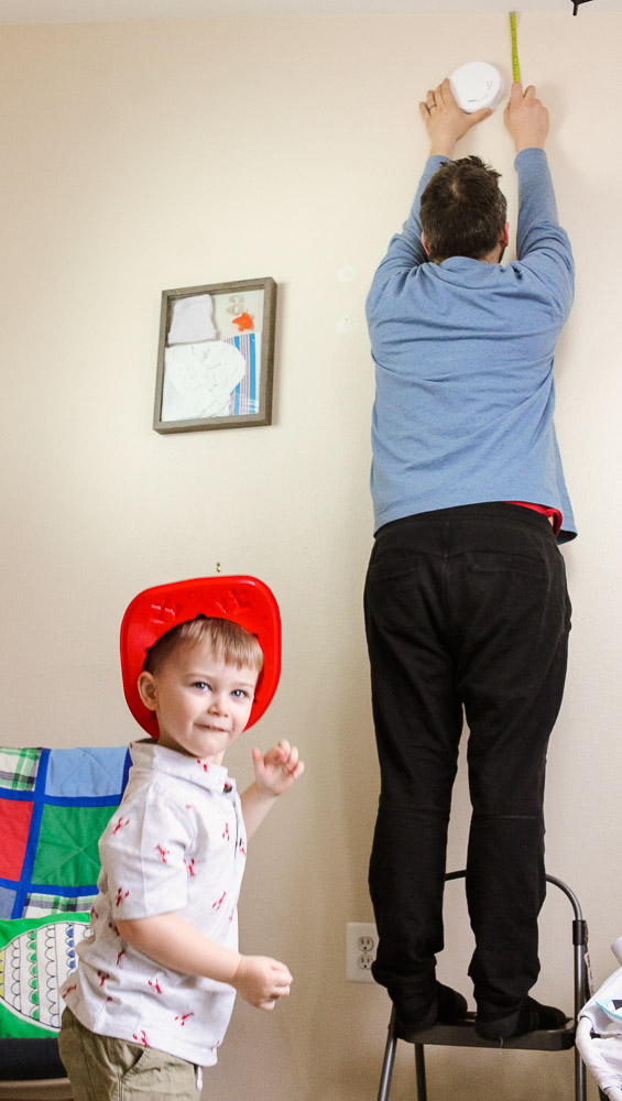 First Alert Smoke Alarms featured by top US mommy blog Baby Castan On Board
