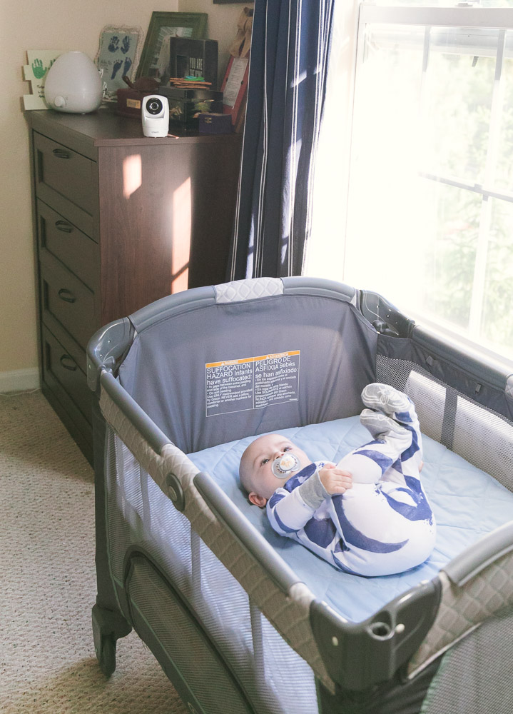 VTech video monitor review featured by top US mommy blog, Baby Castan on Board.