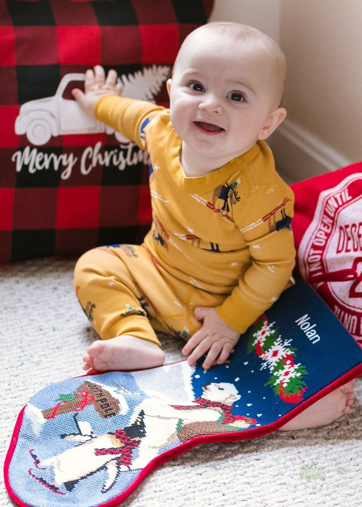 Stocking stuffer ideas for babies featured by top US mommy blog, Baby Castan on Board